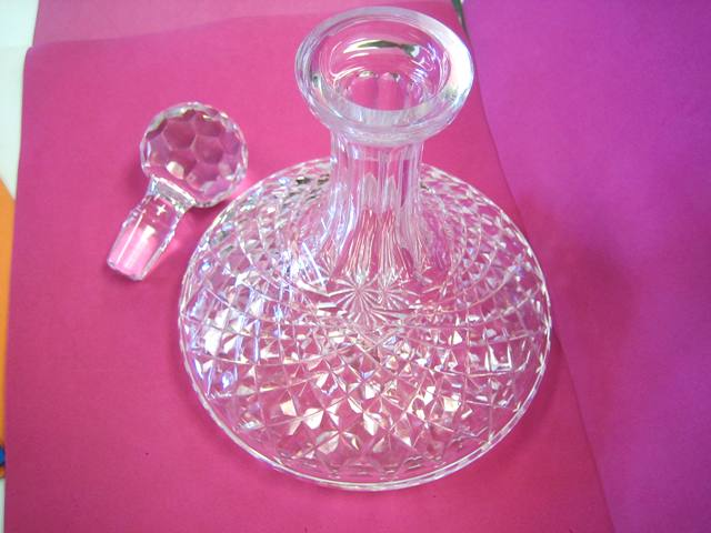 WATERFORD CRYSTAL CAPTIAN'S LIQUOR DECANTER